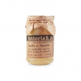 Cipolline in agrodolce, 240 gr - Fattoria Sant'Anna