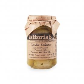Spring onions in oil, 240 gr - Fattoria Sant'Anna