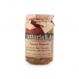 Poivrons marinés à l'huile d'olive, 240 gr - Fattoria Sant'Anna