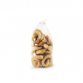 Taralli (Puglia Snack) with turnip tops, 300 gr