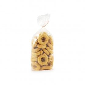 Apulian Taralli with Black Pepper and Curcuma, 300 gr