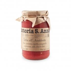 Arrabbiata sauce, 340 gr - Fattoria Sant'Anna