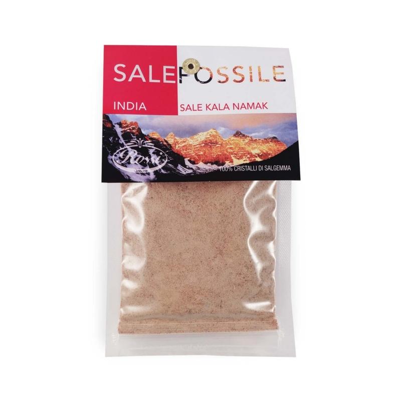 India - Fossil Sale Kala Namak, 80 gr