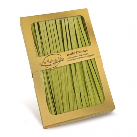 Egg and Spinach Tagliatelle, 250 gr - La pasta di Aldo