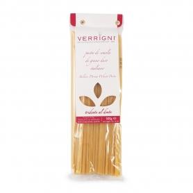 """Spaghettone a tre lati """"Tridente al dente"""", 500 gr - Pastificio Verrigni"""