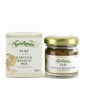 Puré di tartufo bianco 99%, 30 gr - Tartuflanghe