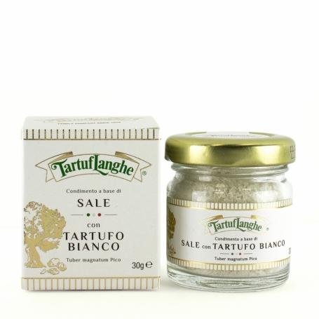 Sel gris de Guérande vinaigrette à la truffe blanche, 30 gr - Tartuflanghe - I Sali dal mondo