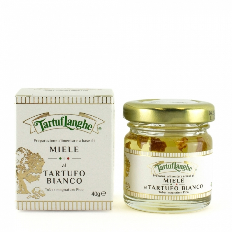 Food preparation made from Acacia honey with white truffle, 50 gr - Tartuflanghe