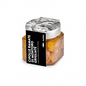 Cipolle ramate grigliate di Montoro in olio EVO, 190 gr - Maida