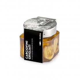 Carciofini grigliati in olio extravergine di oliva, 190 gr - Maida
