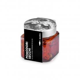 Pomodori secchi in olio extravergine di oliva, 190 gr - Maida