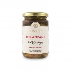 Melanzane in olio di oliva, 280 gr - Bon'Ora