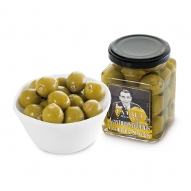 Anchovy stuffed olives, 260 gr - Albert Adrià
