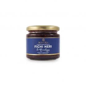 Extra jam of black figs, 210 gr - Bon'ora