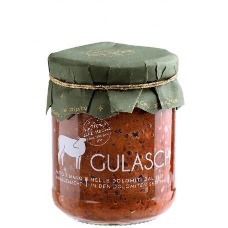 Gulasch, 190 gr - Alpe Magna - Sughi di carne e cacciagione