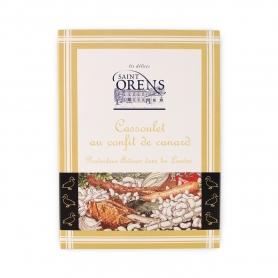 Cassoulet di anatra in confit, 400 gr - Les Délices de Saint Orens