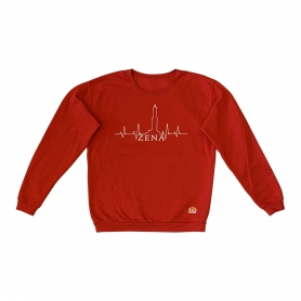 Genovese Mugugno Sweatshirt - Rot - Il Mugugno genovese