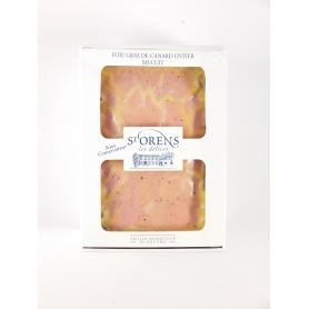 Foie gras entier de canard I CUIT - Nature, 450 gr - Jeanne Bertot - Les Delices Saint Orens
