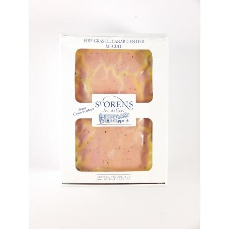 Foie gras entier de canard I CUIT - Nature, 450 gr - Jeanne Bertot