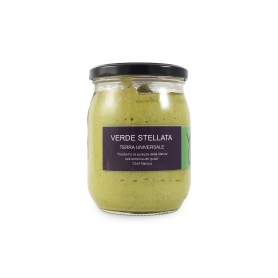 "Gourmet vegetable sauce ""Verde Stellata"", 500gr - Terre Universali"