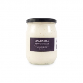 "Salsa vegetale gourmet ""Biancasole"", 500gr - Terre Universali"