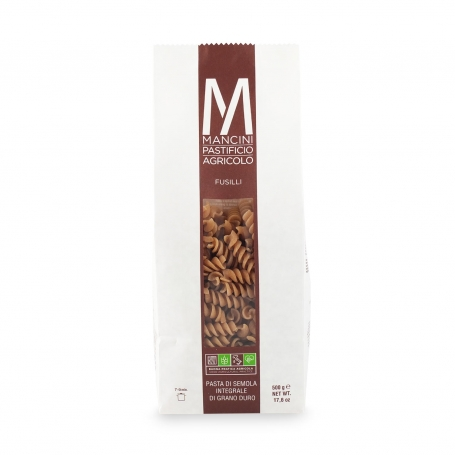 Fruit wholemeal, 500 gr - Mancini pasta