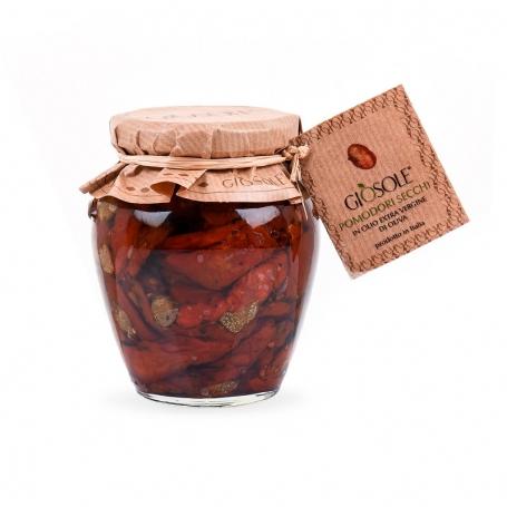 Tomates séchées à l'huile d'olive extra vierge, 280 gr - Masseria GiòSole