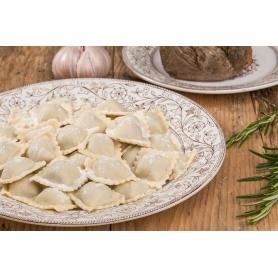 Ganze Ravioli mit Fleisch und Präboggion, 1 kg