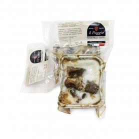 Foies de cinta cuits sous le saindoux, 200 gr - Il Poggio