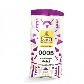 Farina senza glutine per dolci, 1 kg - Petra