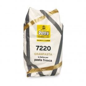 flour 7220 for fresh pasta, 5 kg - Petra