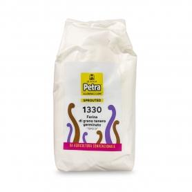 Farina 1330 di grano germinato, 5 kg - Petra