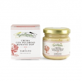 Cream of Pecorino Romano DOP and Truffle, 90gr - Tartuflanghe