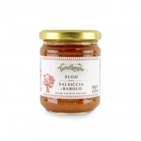 Sausage sauce and Barolo DOCG wine, 185gr - Tartuflanghe