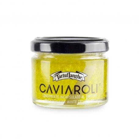 Caviaroli - Condimento incapsulato al Tartufo Bianco, 50gr - Tartuflanghe - Tartufo