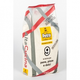 Flour n.9 for bread, pizza and desserts, 5kg - Petra