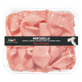 Mortadella, 140gr - Rosa dell'Angelo