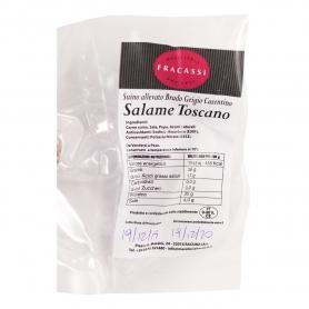 Salami toscan (porc élevé par Brado), 250gr - Macelleria Fracassi