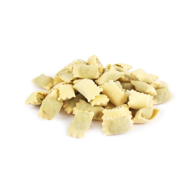 I Ravioli al Plin pasta fresca con ripieno di carne, 500gr - Tartuflanghe
