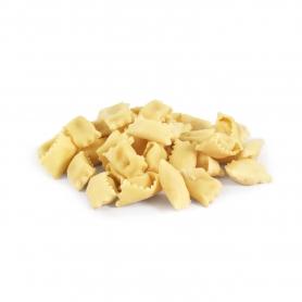 I Ravioli al Plin pasta fresca con ripieno di fonduta e tartufo, 500gr - Tartuflanghe - Pasta italiana