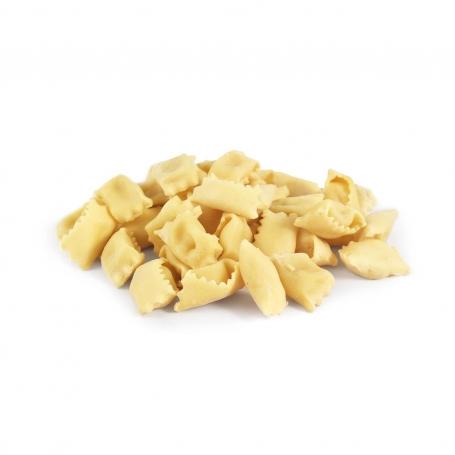 I Ravioli al Plin pasta fresca con ripieno di fonduta e tartufo, 500gr - Tartuflanghe