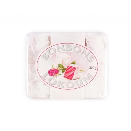 Lokum al gusto di rosa, 300gr - Specialità dolci