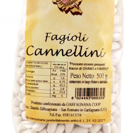 Cannellini beans, 500gr - Garfagnana Coop