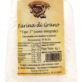 Wheat flour tipo 1 , 1kg - Garfagnana Coop