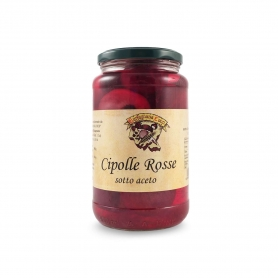 Pickled red onions - Garfagnana Coop