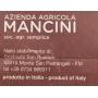 whole spaghetti, 500 gr - Mancini pasta