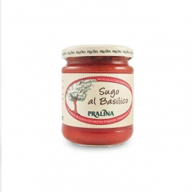 sauce au basilic rustique, 180 gr - Praline