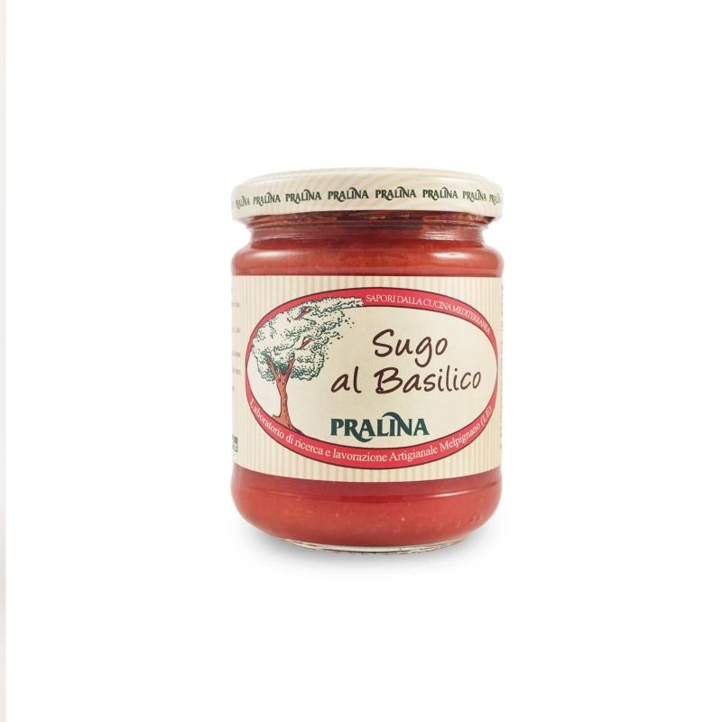 Rustic basil sauce, 180 gr - Praline