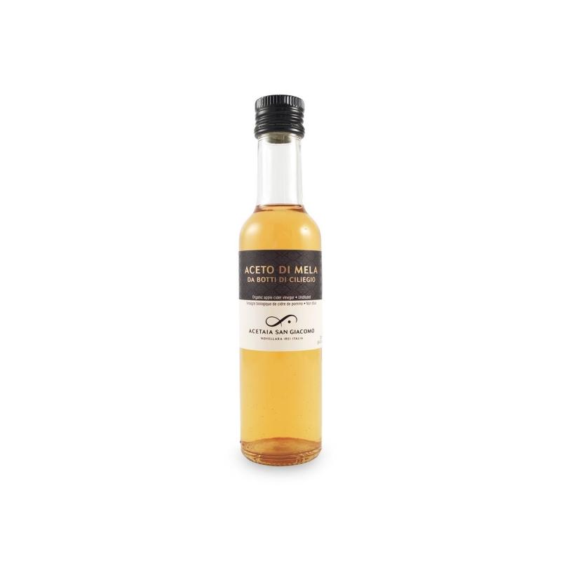Aceto di mela BIO da botti di ciliegio, 250 ml - Acetaia San Giacomo