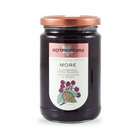 Confettura extra di More, 350 gr - Agrimontana